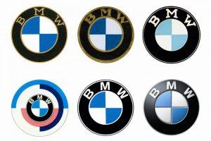 تغییرات لوگو BMW با گذر زمان