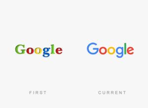 تغییرات لوگو گوگل