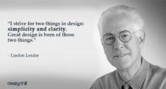 لیندون لیدر (Lindon Leader) یکی از موفق ترین طراحان لوگو
